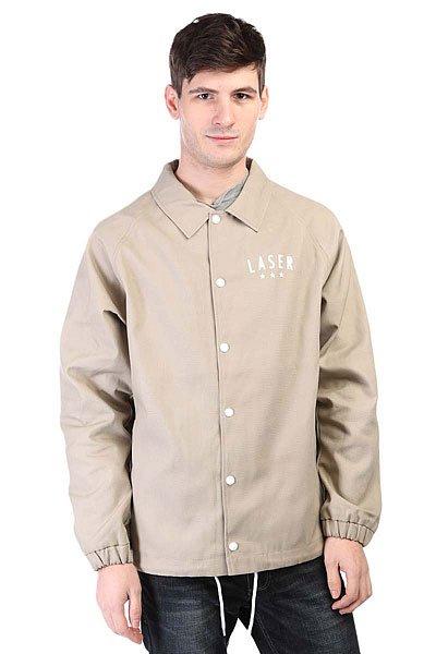 Куртка Anteater Coachjacket Cott Laser BeigeКлассическая куртка Coachjacket, модель из коллаборации с испанским брендом Laser BCN.Технические характеристики: Хлопковая подкладка.Отложной воротник.Карманы для рук.Эластичные манжеты.Внутренний карман.Подол на шнурке.Принт на груди и не спине.<br><br>Цвет: бежевый<br>Тип: Куртка<br>Возраст: Взрослый<br>Пол: Мужской