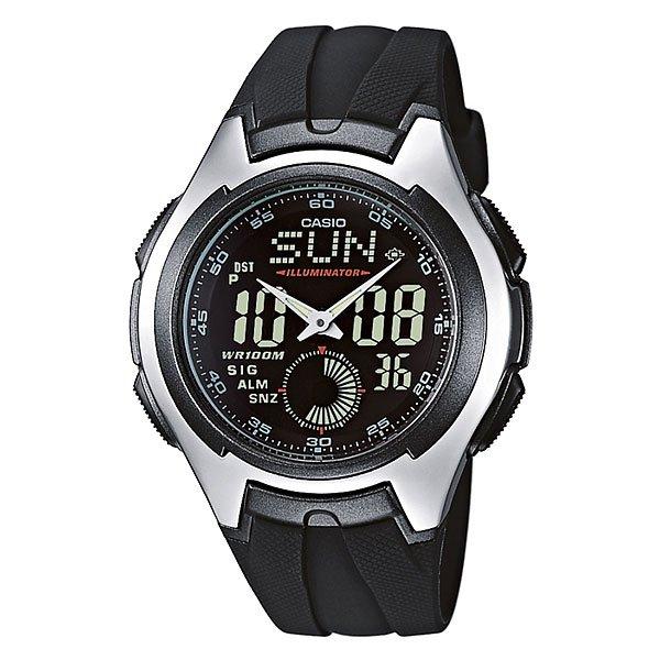 Часы Casio Collection Aq-160w-1b Black/GreyМужские часыCasio AQ-160W-1BVEFсочетают в себе массу отличных качеств. Они легки, удобны и имеют низкую цену, доступную практически всем покупателям. Модель, как и вся серия, находятся в продаже продолжительное время и интерес к ним неизменно высок.Характеристики:Корпус и ремешок из полимерного материала высокой прочности. Они имеют четко выраженный спортивный дизайн и очень хорошо сидят на запястье. Модель защищена от проникновения влаги внутрь корпуса и соответственно от повреждения механизма. Батарея в них рассчитана на 3 года работы.Специально нанесенное на циферблат покрытие необрит обеспечивает длительное послесвечение стрелок в темноте, и позволят легко узнать время в тёмное время суток.Полезные функции: индикация второгочасовогопояса, повтор сигнала, 12 и 24-часовой формат индикации времени, автоматический календарь, таймер обратного отсчёта и секундомер.<br><br>Цвет: черный,серый<br>Тип: Кварцевые часы<br>Возраст: Взрослый<br>Пол: Мужской