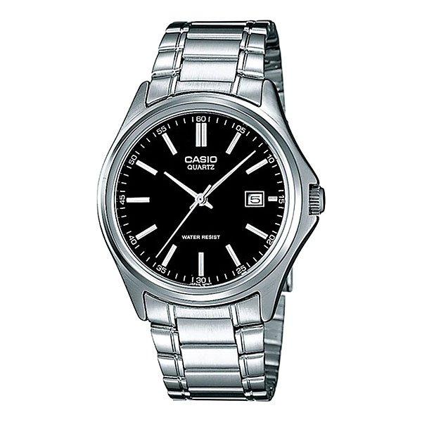 Часы Casio Collection Mtp-1183pa-1a GreyМужские наручные часы в круглом корпусе, полностью выполненные из латуни, секундная стрелка центральная, окошко даты в положении 3 часа, вместо цифр риски.Характеристики:Точный кварцевый механизм. Центральная секундная стрелка. Окошко даты. Точность хода не хуже -10 +15 сек./в месяц.Минеральное стекло устойчивое к возникновению царапин. Материал корпуса: латунь. Браслет из нержавеющей стали. Водозащита до 3 АТМ.<br><br>Цвет: серый<br>Тип: Кварцевые часы<br>Возраст: Взрослый<br>Пол: Мужской