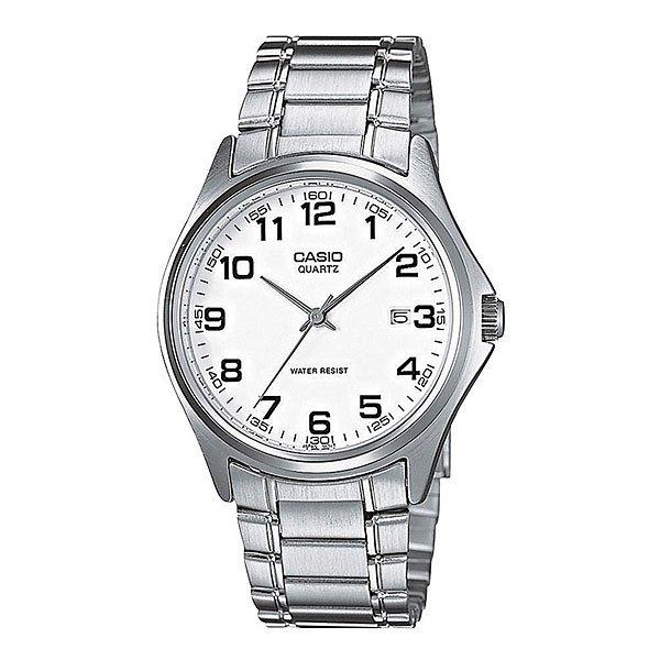 Часы Casio Collection Mtp-1183pa-7b Grey/WhiteМужские наручные часы в круглом корпусе, полностью выполненные из латуни, секундная стрелка центральная, окошко даты в положении 3 часа.Характеристики:Точный кварцевый механизм. Центральная секундная стрелка. Окошко даты. Точность хода не хуже -10 +15 сек./в месяц.Минеральное стекло устойчивое к возникновению царапин. Материал корпуса: латунь. Браслет из нержавеющей стали. Водозащита до 3 АТМ.<br><br>Цвет: серый,белый<br>Тип: Кварцевые часы<br>Возраст: Взрослый<br>Пол: Мужской