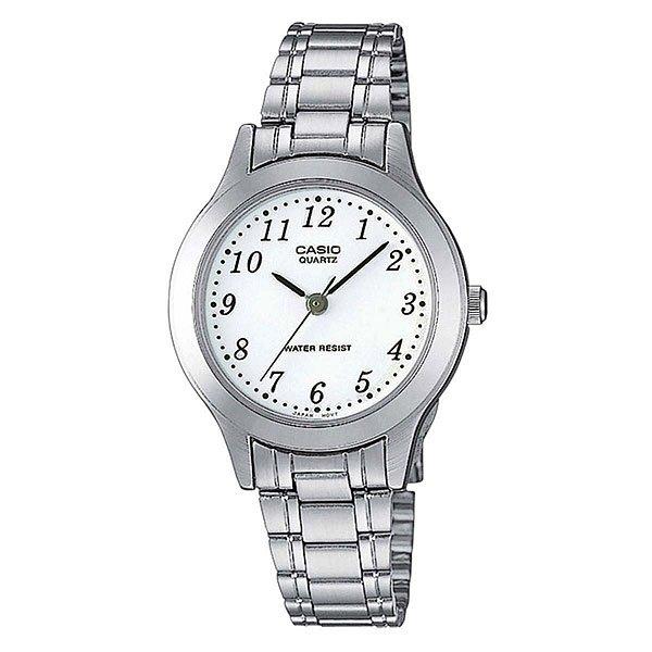 Часы Casio Collection Mtp-1128pa-7b GreyНаручные часы выполненные из стального сплава, корпус круглой формы, секундная стрелка центральная на светлом циферблате. Характеристики:Точный кварцевый механизм. Центральная секундная стрелка. Точность хода не хуже -10 +15 сек./в месяц.Минеральное стекло устойчивое к возникновению царапин. Корпус из высококачественного стального сплава 316L с высокими антикоррозийными свойствами.Браслет из нержавеющей стали. Водозащита до 3 АТМ.<br><br>Цвет: серый<br>Тип: Кварцевые часы<br>Возраст: Взрослый<br>Пол: Мужской
