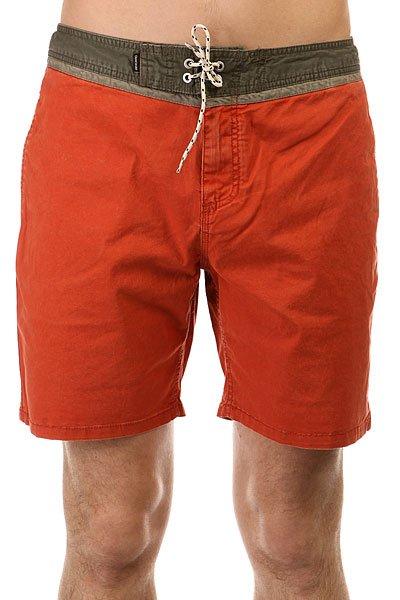 Шорты классические Quiksilver Street Trunk Yo Wkst Rooibos<br><br>Цвет: оранжевый,зеленый<br>Тип: Шорты классические<br>Возраст: Взрослый<br>Пол: Мужской