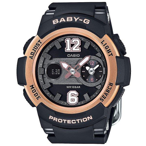 Кварцевые часы Casio Baby-G Bga-210-1B Black/GoldПрактичные наручные часы в стильном корпусе из полимерного материала.Технические характеристики: Светодиодная подсветка.Ударопрочная конструкция защищает от ударов и вибрации. Неоновый дисплей.Функция мирового времени.Двойное время Dual Dial Time.Функция секундомера - 1 час.Таймер - 1/1 мин. - 1 час.Ежедневный будильник.Включение/выключение звука кнопок.Функция перемещения стрелок.Автоматический календарь.12/24-часовое отображение времени.Минеральное стекло - прочное, устойчивое к царапинам минеральное стекло защищает часы от повреждений.Корпус из полимерного пластика.Ремешок из полимерного материала.Время работы аккумулятора - 2 года.Водонепроницаемость (10 Бар).Точность +/- 30 сек в месяц.<br><br>Цвет: черный<br>Тип: Кварцевые часы<br>Возраст: Взрослый<br>Пол: Мужской