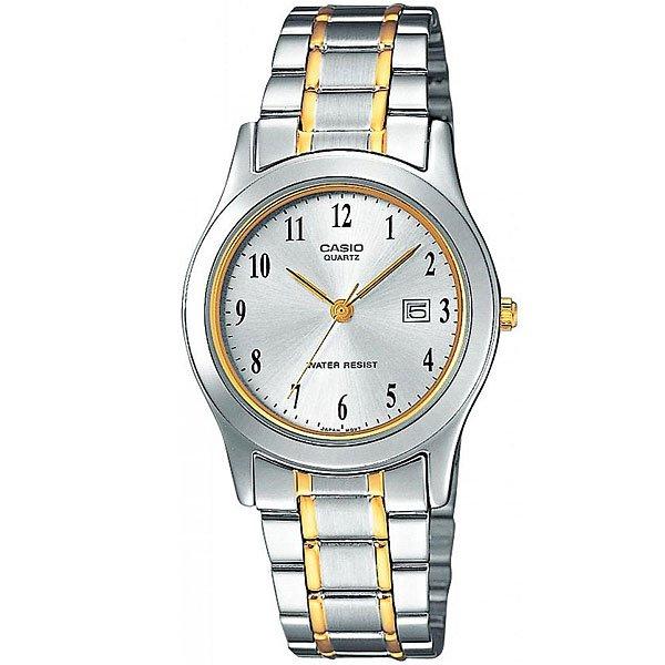 Кварцевые часы Casio Collection Ltp-1264Pg-7B GreyКлассические наручные часы в прочном корпусе из гипоаллергенной латуни.Технические характеристики: Дисплей с датой.Минеральное стекло - прочное, устойчивое к царапинам минеральное стекло защищает часы от повреждений.Корпус из гипоаллергенной латуни.Браслет из нержавеющей стали.Складная застежка.Время работы аккумулятора - 3 года.Водонепроницаемость в соответствии с DIN 8310 т.е. ISO 2281 - любые контакты с большим количеством воды следует избегать.Точность +/- 20 сек в месяц.<br><br>Цвет: серый<br>Тип: Кварцевые часы<br>Возраст: Взрослый<br>Пол: Мужской