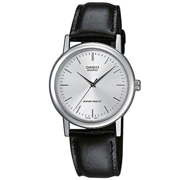 Кварцевые часы Casio Collection Mtp-1261Pe-7A Grey/BlackНаручные часы в прочном корпусе из гипоаллергенной латуни на кожаном ремешке.Технические характеристики: Минеральное стекло - прочное, устойчивое к царапинам минеральное стекло защищает часы от повреждений.Корпус из гипоаллергенной латуни.Ремешок из натуральной кожи.Время работы аккумулятора - 3 года.Водонепроницаемость в соответствии с DIN 8310 т.е. ISO 2281 - любые контакты с большим количеством воды следует избегать.Точность +/- 20 сек в месяц.<br><br>Цвет: черный,серый<br>Тип: Кварцевые часы<br>Возраст: Взрослый<br>Пол: Мужской