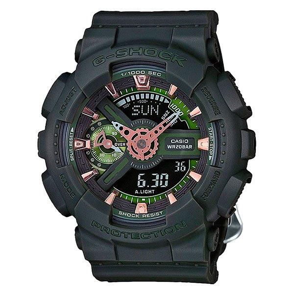 Электронные часы Casio G-Shock GMA-S110CM-3AМужские наручные часы Casio G-Shock GA-110CB-1A. Часы наручные серии Casio G-Shock G-Shock - ударопрочная конструкция защищает от ударов и вибрации.Характеристики:Экран: стрелки + электроника. Корпус: пластик. Ремешок: резиновый (каучуковый). Стекло: минеральное. Светодиодная автоподсветка. Будильник: 5 независимых будильников + возможность ежечасного сигнала + функция будильник с повтором через несколько минут.Секундомер с точностью до 1/1000 секунды. Таймер обратного отсчета с функцией повтора. Режим Мирового времени: Обеспечивает отображение текущего времени в некоторых городах и определенных регионах мира. Полностью автоматический календарь. 12- и 24-часовой формат времени.<br><br>Цвет: черный<br>Тип: Электронные часы<br>Возраст: Взрослый<br>Пол: Мужской