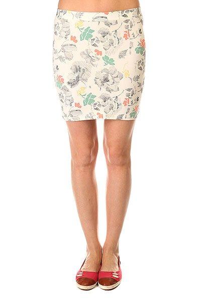 Юбка женская Roxy Livin Artliner Combo SandПриталенная женская юбка с легким цветочным принтом Livin It Up от ROXY.Технические характеристики: Удобный эластичный хлопок.Приталенный крой.Широкий пояс.Без застежек.Короткая длина.Легкий дизайн с цветочным принтом.<br><br>Цвет: белый<br>Тип: Юбка<br>Возраст: Взрослый<br>Пол: Женский