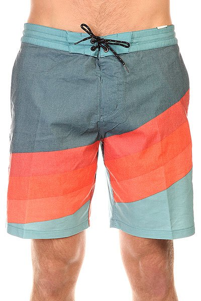 Шорты пляжные Billabong Slice Lo Tides 18.5 HazeЭти яркие шорты в классической ретро расцветке напоминают лишь о волнах и раскаленном песке. Достаточно короткий крой, не стесняющий движений делает эти шорты вполне пригодными для коротких сессий на доскеи последующего пляжного отдыха на берегу с освежающими напитками.Характеристики:Пояс на шнурке. Задний карман с клапаном. Два кармана для рук. Фирменный логотип на заднем кармане и штанине. Эластичная ткань. Эластичная петля на поясе.<br><br>Цвет: синий,голубой,оранжевый<br>Тип: Шорты пляжные<br>Возраст: Взрослый<br>Пол: Мужской