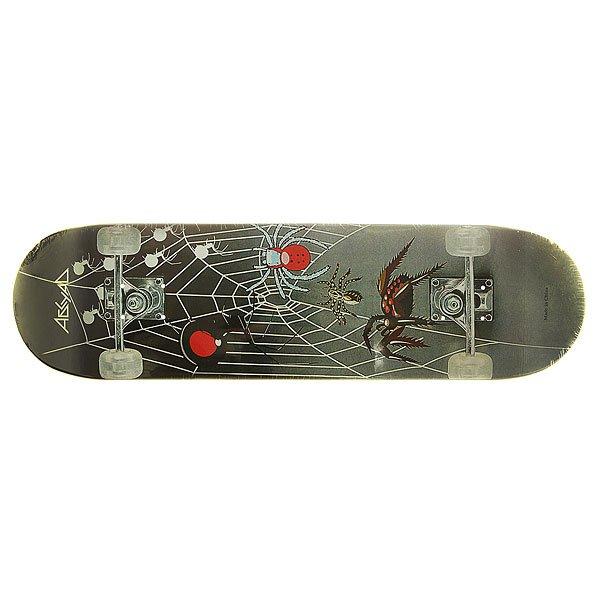 Дека для скейтборда для скейтборда Absurd Made in China 3 Black/Grey 31.75 x 8.25 (21 см)Ширина деки: 8.25 (21 см)    Длина деки: 31.75 (80.6 см)    Количество слоев: 7<br><br>Цвет: черный,серый<br>Тип: Дека для скейтборда