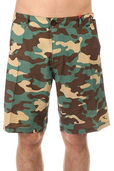 Шорты пляжные Lost Blitz Camo<br><br>Цвет: зеленый,коричневый,бежевый,камуфляжный<br>Тип: Шорты пляжные<br>Возраст: Взрослый<br>Пол: Мужской