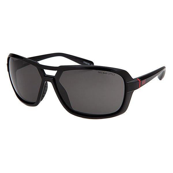 Очки Nike Optics Racer Black Grey LensСолнцезащитные очки в обтекаемом минималистичном дизайне. Невероятно легкая оправа с резиновыми носовыми упорами обеспечивает удобную посадку в любой ситуации.Технические характеристики: Легкий нейлоновый каркас для комфорта и долговечности.Петли Cam-action.100% защиты от УФ-лучей.Мягкие носовые упоры.Технология Nike Max Optics - это передовое высокоточное оптическое решение для спортсменов. В сочетании с фотохромной технологией Transitions эти линзы способны адаптироваться к различным условиям спортивной деятельности и к изменениям освещения. Идеальные линзы для самых высоких спортивных результатов.Логотип Nike.Ширина оправы 14 см, длина дужки 13 см, высота оправы 4,5 см.<br><br>Цвет: черный<br>Тип: Очки<br>Возраст: Взрослый<br>Пол: Мужской