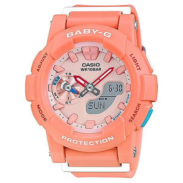 Кварцевые часы детские Casio Baby-g BGA-185-4A Pink/OrangeНаручные часы в классическом спортивном дизайне с функциональными стрелками и стандартным набором необходимых опций на каждый день.Технические характеристики: Светодиодная подсветка.Ударопрочная конструкция защищает от ударов и вибрации.Функция мирового времени.Функция секундомера- 1/100 сек. - 1 час.Таймер - 1/1 мин. - 24 часа.5 ежедневных будильников.Включение/выключение звука кнопок.Функция перемещения стрелок.Автоматический календарь.12/24-часовое отображение времени.Минеральное стекло - прочное, устойчивое к царапинам минеральное стекло защищает часы от повреждений.Корпус из полимерного пластика.Ремешок из полимерного материала.Время работы аккумулятора - 2 года.Точность +/- 30 сек в месяц.<br><br>Цвет: розовый,оранжевый<br>Тип: Кварцевые часы<br>Возраст: Детский