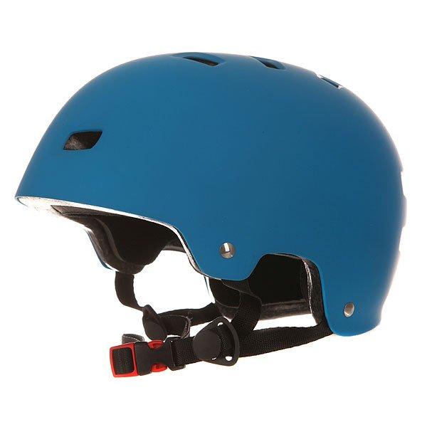 Шлем для скейтборда Bullet Deluxe Helmet Matte BlueНовинка от компании Bullet – фирменный шлем для скейтбординга в однотонном дизайне – простота и минимализм вашего стиля.Характеристики:Супер прочная оболочка из ABS пластика. Амортизирующий наполнитель из вспененного материала EPS. 12 отверстий для вентиляции. Теплая приятная флисовая подкладка. Мягкие съемные накладки. Удобная застежка Fidlock. Накладка на ремешке из мягкого флиса. Фирменный логотип на шлеме.<br><br>Цвет: голубой<br>Тип: Шлем для скейтборда<br>Возраст: Взрослый<br>Пол: Мужской