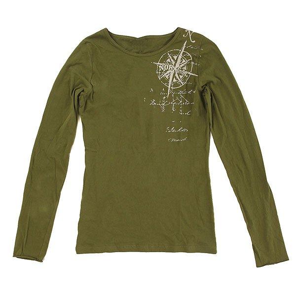 Лонгслив детский Nor Cal Maritime Fitted Olive<br><br>Цвет: зеленый<br>Тип: Лонгслив<br>Возраст: Детский