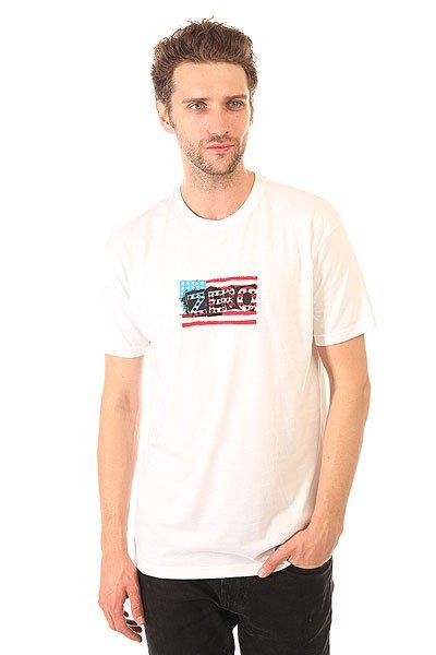 Футболка Zero American Punk Premium White<br><br>Цвет: белый<br>Тип: Футболка<br>Возраст: Взрослый<br>Пол: Мужской
