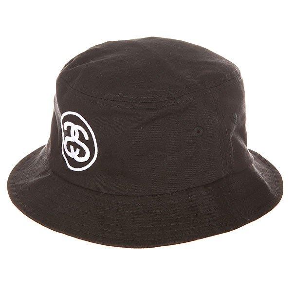 Панама Stussy link Bucket Hat BlackКлассическая панама – неизменный летний аксессуар для защиты от солнца.Характеристики:Вышитый логотип. Широкие поля.Классический крой. Отверстия для вентиляции.<br><br>Цвет: черный<br>Тип: Панама<br>Возраст: Взрослый<br>Пол: Мужской