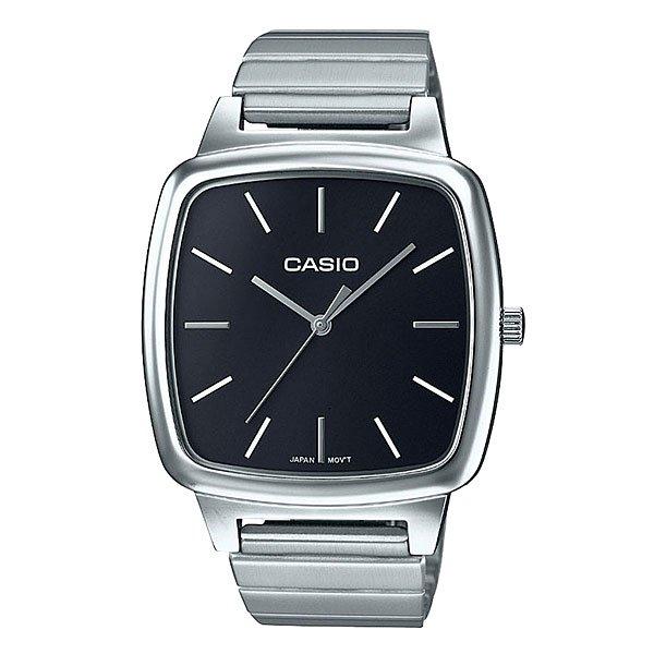 Кварцевые часы Casio Collection Ltp-e117d-1a Metal GreyЭлегантные наручные часы в прочном корпусе из нержавеющей стали.Технические характеристики: Кварцевый механизм.Минеральное стекло.Корпус из нержавеющей стали.Браслет из нержавеющей стали.Регулируемая застежка.Срок службы аккумулятора - 3 года.Водонепроницаемые при обычном повседневном использовании.<br><br>Цвет: серый<br>Тип: Кварцевые часы<br>Возраст: Взрослый<br>Пол: Мужской