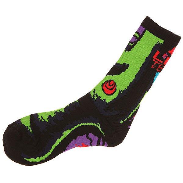 Носки высокие Lib Tech Green Girl Sock Bd Black<br><br>Цвет: черный<br>Тип: Носки высокие<br>Возраст: Взрослый<br>Пол: Мужской