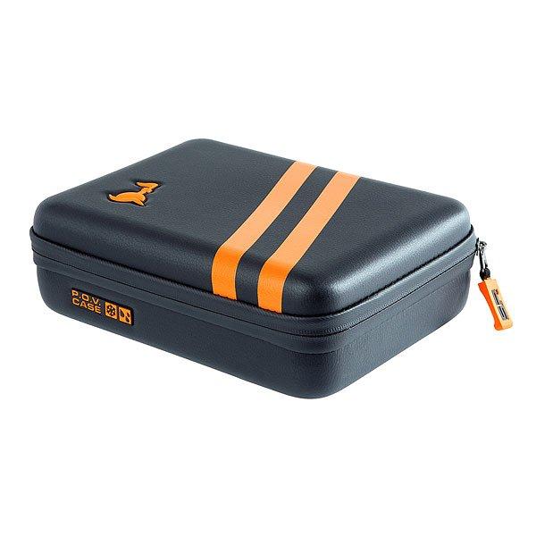 Сумка для фототехники SP Gadgets Pov Aqua Case Small Gopro-edition 3.0 BlackКогда Вам нужна защита без компромиссов, тогда на помощь приходит водонепроницаемый чехол AQUA POV CASE. Он не только защитит камеру от влаги, но еще и не тонет, обеспечивая отличную защиту и организацию для Вашего оборудования.Технические характеристики: Совместимость с HERO, HERO2, HERO3, HERO3+ и HERO4.Не пропускает влагу и не тонет.Гибкий карман из сетки.Органайзер.GoPro® камера и аксессуары в комплект не входят.<br><br>Цвет: черный<br>Тип: Сумка для фототехники