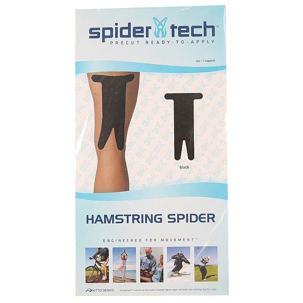 Лента кинезиологическая SpiderTech Hamstring Black<br><br>Цвет: черный<br>Тип: Лента кинезиологическая