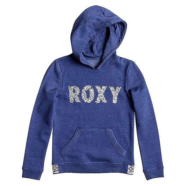 Толстовка кенгуру Roxy Riding G Otlr Blue Print<br><br>Цвет: синий<br>Тип: Толстовка кенгуру<br>Возраст: Детский
