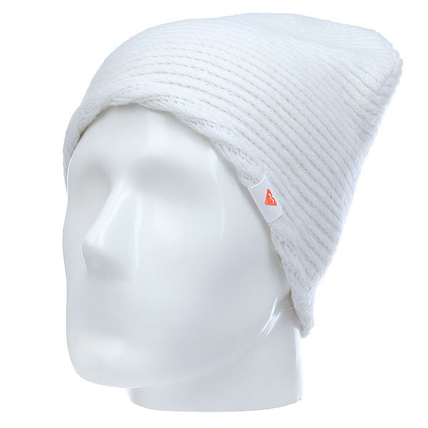Шапка женская Roxy Rxx Courrege Shat Bright White<br><br>Цвет: белый<br>Тип: Шапка<br>Возраст: Взрослый<br>Пол: Женский