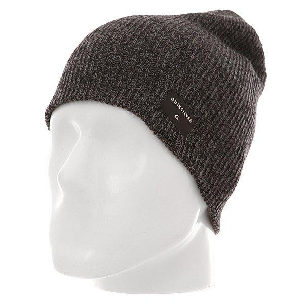 Шапка Quiksilver Cushy M Hats Charcoal Heather<br><br>Цвет: серый,черный<br>Тип: Шапка<br>Возраст: Взрослый<br>Пол: Мужской