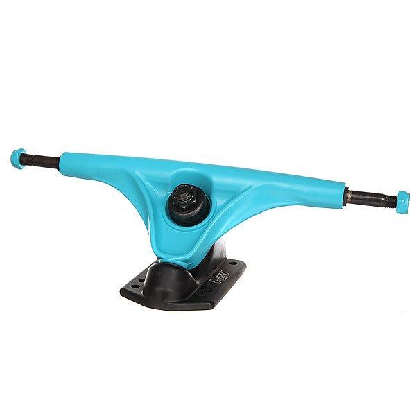 Подвески для скейтборда для лонгборда 2шт. Eastcoast Mission Black/Blue 7 (24.8 см)Ширина подвесок: 7 (24.8 см)    Высота подвесок: 67 мм    Цена указана за 2 штВысококачественные подвески Mission для лонгборда. Прочное покрытие нового поколения с разнообразной фактурой, надежная конструкция, отличный контроль и чувство доски.Технические характеристики: Материал - алюминий и сталь.Ширина - 17,8 см.Идеально подойдут для лонгборда или круизера.<br><br>Цвет: голубой,черный<br>Тип: Подвески для лонгборда<br>Возраст: Взрослый<br>Пол: Мужской