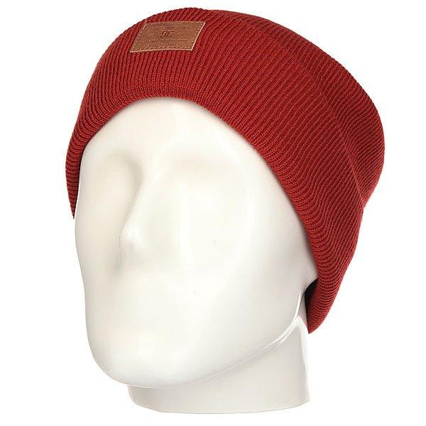 Шапка DC Label Ketchup Red<br><br>Цвет: бордовый<br>Тип: Шапка<br>Возраст: Взрослый<br>Пол: Мужской