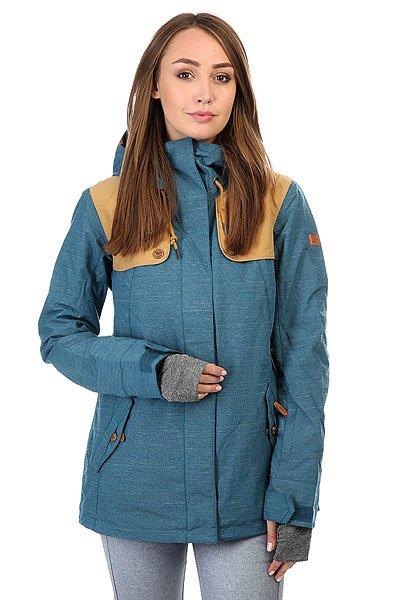 Куртка женская Roxy Lodge Legion BlueСноубордическая куртка Lodge с мембраной DryFlight® и утеплителем Thinsulate™ Type M, заботливо дополненная специальными длинными манжетами для быстрого согревания пальцев руки.Технические характеристики: Мембрана DryFlight®.Утеплитель Thinsulate™ Type M (тело 80 г, рукава и капюшон 40 г).Подкладка из тафты со вставками из трикотажа с начесом.Критические швы проклеены.Три способа регулировки капюшона.Фиксированный капюшон.Снежная юбка из тафты с удобными кнопками.Система пристегивания куртки к штанам.Подкладка в районе подбородка.Внутренний медиа карман.Внутренний карман для маски.Брелок для ключей.Длинные внутренние манжеты, позволяющие быстро согреть руки.Карман для скипасса на рукаве.Карманы для рук с теплой подкладкой.Манжеты с регулировкой на липучках.Сеточная вентиляция на молнии.Подол на утяжке для защиты от ветра.Застежка на молнии с ветрозащитным клапаном на липучках.<br><br>Цвет: синий<br>Тип: Куртка утепленная<br>Возраст: Взрослый<br>Пол: Женский