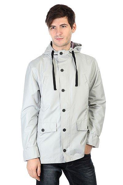 Ветровка Skills Fusion Светло СерыйМужская куртка от Skills из прочной нейлоновой ткани с мягкой подкладкой из хлопка и полиэстера.Технические характеристики: Нейлоновая ткань.Легкая подкладка из сочетания хлопка и полиэстера.Водоотталкивающая обработка.Прямой крой.Фиксированный капюшон на шнурках.Нагрудные карманы, карманы для рук и потайной карман.Однотонный дизайн.Застежка на молнии с ветрозащитным клапаном на пуговицах.<br><br>Цвет: серый<br>Тип: Ветровка<br>Возраст: Взрослый<br>Пол: Мужской