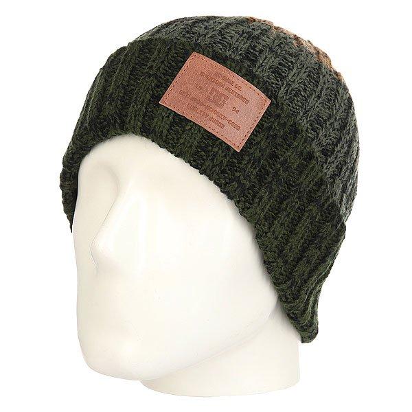 Шапка DC Iva Kombu Green<br><br>Цвет: коричневый,зеленый,черный<br>Тип: Шапка<br>Возраст: Взрослый<br>Пол: Мужской