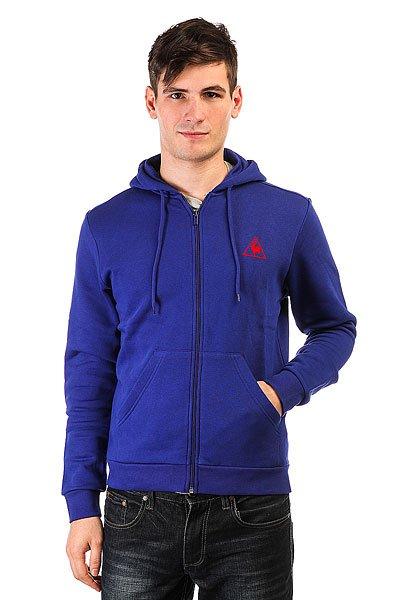Толстовка классическая Le Coq Sportif Ailier Fz Hood Brushed Ultra Blue<br><br>Цвет: синий<br>Тип: Толстовка классическая<br>Возраст: Взрослый<br>Пол: Мужской