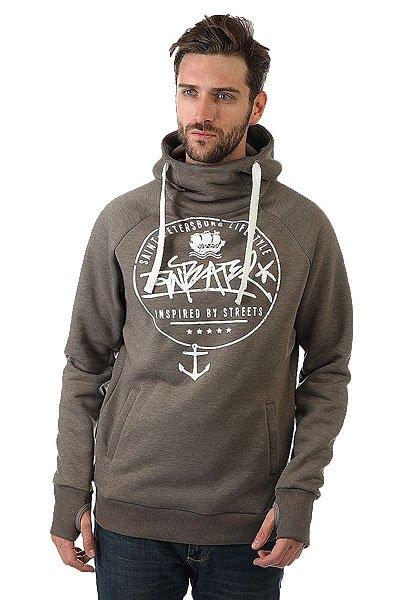 Толстовка сноубордическая Anteater Hoodie Sea<br><br>Цвет: серый<br>Тип: Толстовка сноубордическая<br>Возраст: Взрослый<br>Пол: Мужской