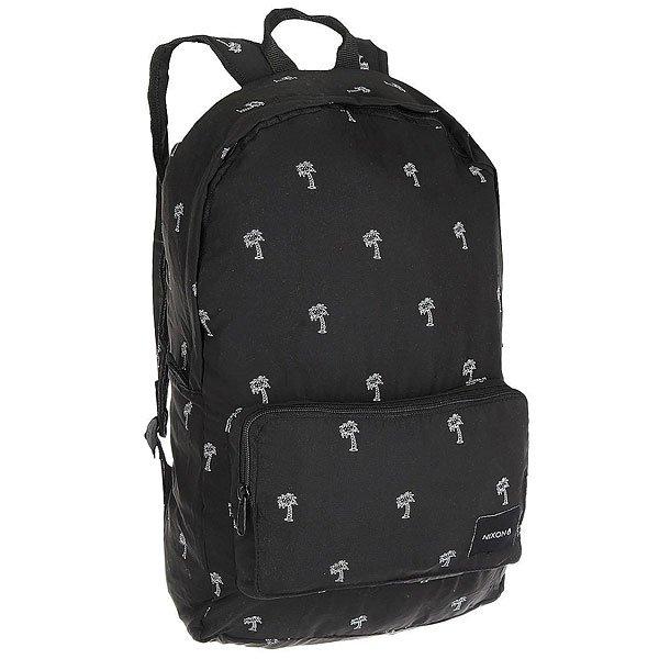 Рюкзак городской Nixon Everyday Backpack Black/WhiteКачественный и функциональный рюкзак с которым легко путешествовать по миру. Будьте готовы подняться на новый уровень!Технические характеристики: Вместительный рюкзак объемом 18 л.Застежка на молнии.Передний карман для аксессуаров.Мягкие плечевые ремни с регулировкой.Легко упаковывается в маленькую сумочку.<br><br>Цвет: черный,белый<br>Тип: Рюкзак городской<br>Возраст: Взрослый