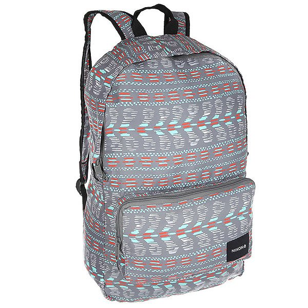 Рюкзак городской Nixon Everyday Backpack Gray MultiКачественный и функциональный рюкзак с которым легко путешествовать по миру. Будьте готовы подняться на новый уровень!Технические характеристики: Вместительный рюкзак объемом 18 л.Застежка на молнии.Передний карман для аксессуаров.Мягкие плечевые ремни с регулировкой.Легко упаковывается в маленькую сумочку.<br><br>Цвет: мультиколор,серый<br>Тип: Рюкзак городской<br>Возраст: Взрослый