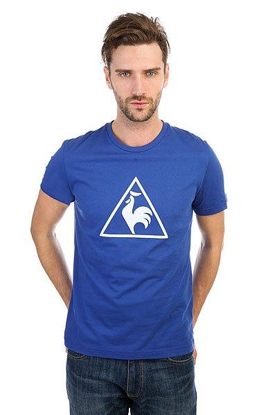 Футболка Le Coq Sportif Abrito Mazarine<br><br>Цвет: синий<br>Тип: Футболка<br>Возраст: Взрослый<br>Пол: Мужской