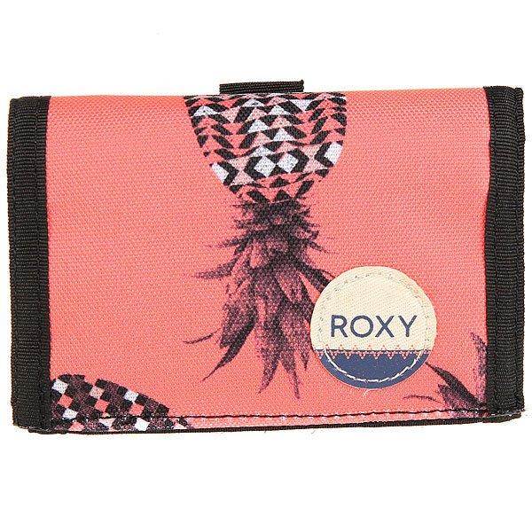 Кошелек женский Roxy Small Beach Ax Neon Grapefruit<br><br>Цвет: оранжевый,мультиколор<br>Тип: Кошелек<br>Возраст: Взрослый<br>Пол: Женский