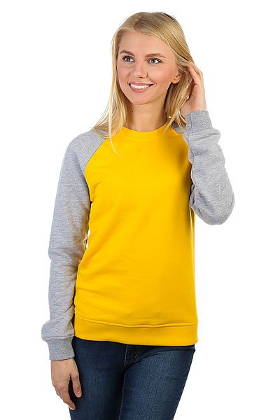 Толстовка классическая Skills Show Your Skills Yellow/Grey<br><br>Цвет: желтый,серый<br>Тип: Толстовка классическая<br>Возраст: Взрослый<br>Пол: Женский