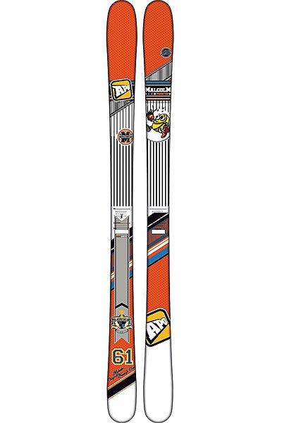 Горные лыжи Apo Malcom 161 Orange/WhiteУниверсальные лыжи для фристайла, которые чувствуют себя очень комфортно в воздухе.Технические характеристики: Сердечник PB Performance - прочный и сильный сердечник обеспечивает стабильное и динамичное скольжение.Двойное стекловолокно 2D - точность, баланс и легкий вес.Быстрый и простой в уходе скользяк Extruded.Боковины Stone Grind Cap для лучшего скольжения по снегу.Прогиб - классический кэмбер.Для начинающих райдеров.<br><br>Цвет: оранжевый,белый,черный<br>Тип: Горные лыжи<br>Возраст: Взрослый<br>Пол: Мужской