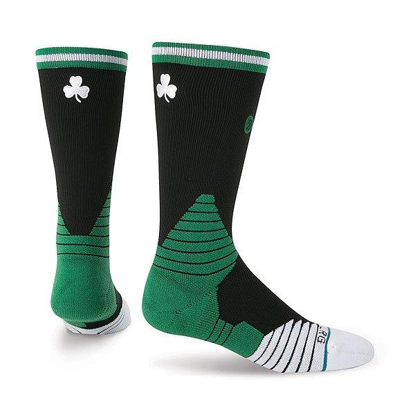 Носки средние Stance Nba Arena Celtics Arena Logo Black<br><br>Цвет: черный,зеленый<br>Тип: Носки средние<br>Возраст: Взрослый<br>Пол: Мужской