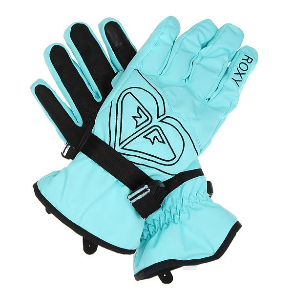 Перчатки сноубордические женские Roxy Popi Gloves Real Blue RadianceСноубордические перчатки Popi из технологичного текстиля с утеплителем.Технические характеристики: Технологичная саржа из полиэстера.Утеплитель 130 г.Мягкая трикотажная подкладка с начесом.Эластичные манжеты.Регулируемое запястье.Панель для протирки маски и вытирания носа на большом пальце.Эластичный лиш.<br><br>Цвет: голубой<br>Тип: Перчатки сноубордические<br>Возраст: Взрослый<br>Пол: Женский