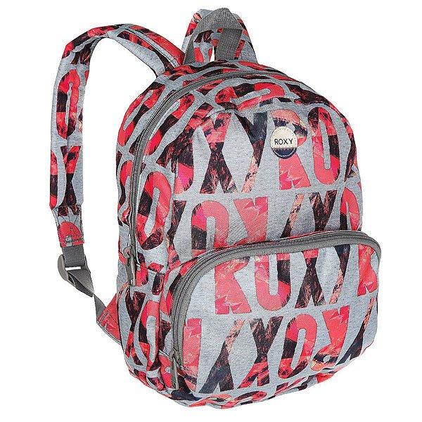 Рюкзак городской женский Roxy Always Core Ax Heritage HeatherПростой рюкзак для городской жизни в ярком дизайне.Технические характеристики: Яркий сплошной принт.Одно основное отделение.Передний карман на молнии.Мягкие и регулируемые плечевые ремни.Ручка.Хлопковая нашивка с логотипом.<br><br>Цвет: мультиколор,серый<br>Тип: Рюкзак городской<br>Возраст: Взрослый<br>Пол: Женский