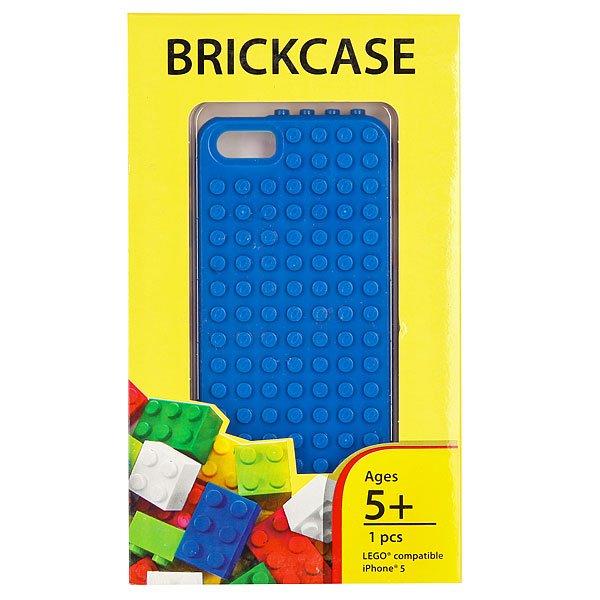 Чехол для iPhone 5 Smallworks BrickPhone5 Blue<br><br>Цвет: синий<br>Тип: Чехол для iPhone