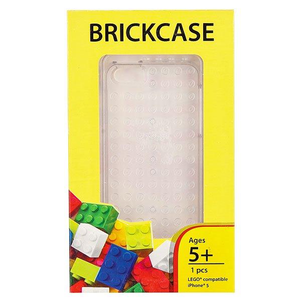 Чехол для iPhone 5 Smallworks BrickPhone5 Clear<br><br>Цвет: белый<br>Тип: Чехол для iPhone