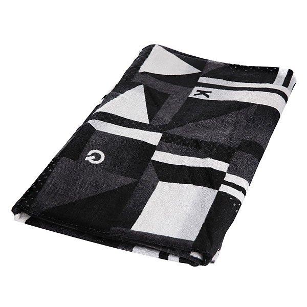 Полотенце Quiksilver Mirrotowel Black<br><br>Цвет: черный,белый<br>Тип: Полотенце<br>Возраст: Взрослый<br>Пол: Мужской