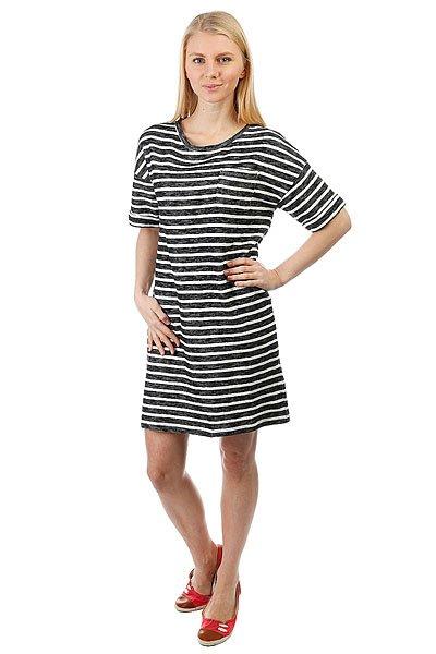 Платье женское Roxy Gettogether Anthracite Friday St<br><br>Цвет: черный,белый<br>Тип: Платье<br>Возраст: Взрослый<br>Пол: Женский