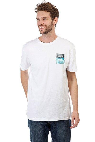 Футболка Quiksilver Walledup White<br><br>Цвет: белый<br>Тип: Футболка<br>Возраст: Взрослый<br>Пол: Мужской