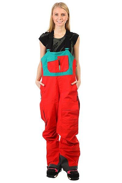 Комбинезон женский Trew Gear Chariot Red<br><br>Цвет: красный,зеленый<br>Тип: Комбинезон<br>Возраст: Взрослый<br>Пол: Женский