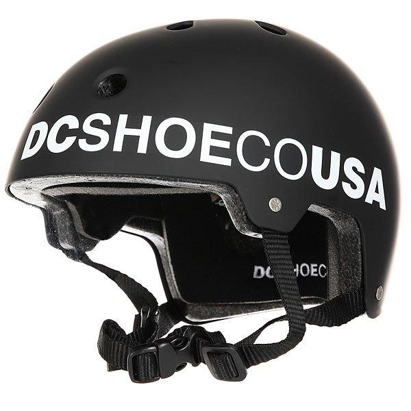 Шлем для скейтборда DC Askey 3 BlackЛёгкий скейтовый шлем с продуманной системой вентиляции. Выполнен из ударопрочного ABS пластика. Обладает отличной эргономикой, обеспечивая Вам надежную защиту.Характеристики:Стандарт безопасностиCE EN 1078.Ударопрочный ABS пластик. Регулируемая пластиковая защёлка. 11 вентиляционных отверстий. Съёмная моющаяся подкладка. Материал: 100% пластик.<br><br>Цвет: черный<br>Тип: Шлем для скейтборда<br>Возраст: Взрослый<br>Пол: Мужской